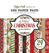 Echo Park Paper Company a Perfect Christmas 6x6 Paper Pad