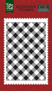 Echo Park Paper Company Holiday Buffalo Plaid Stamp