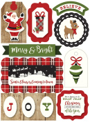 Echo Park Paper Company a Perfect Christmas Layered Stickers