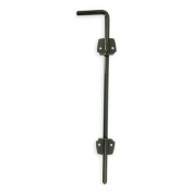 Battalion 4PB59 Black Steel 46cm L 1.3cm W Cane Bolt