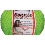 Bonnie Macrame Neon Craft Cord, 4mm x 100yd, Chartreuse