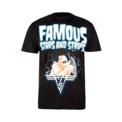 Famous Stars And Straps Mens 1984 S/s T-shirt - Black. Fsas T Shirt . Rrp