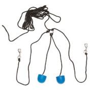 Zilco Ear Plugs-moulded Black Cord - Horse Wear