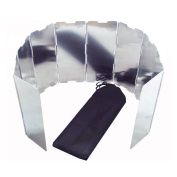 10 Plates Foldable Outdoor Camping Cooker Gas Picnic Stove Wind Shield Screen