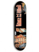 Grizzly Skate Mental Black Skate Mental Bearz N The Hood - 20cm Skateboard Dec