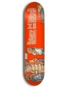 Grizzly Skate Mental Red Skate Mental Bearz N The Hood - 21cm Skateboard Dec