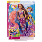 Barbie FBD64 Dolphin Magic Transforming Mermaid Doll