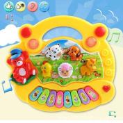 Baby Kid Musical Educational Piano Animal Farm Developmental Music Toy Game Tool