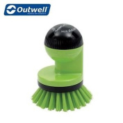 Outwell Dishwasher Brush Camping Cleaning Cooking Pot Brush - Green - 650227