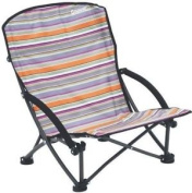 Outwell Azul Summer Low Chair Outdoor Camping Furniture Multicoloured Stripes