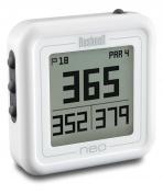 Bushnell Unisex Adult Neo Ghost Preloaded Worldwide Mapping Golf Gps - White