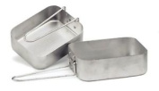 Gelert Cut051 2 Piece Mess Tins