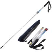 Trekking Poles,folding Lightweight Anti-shock Travel Hiking Pole For Outdoor Eva