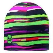 Buff Polar Huron Microfibre Hat - Pink/green/bla