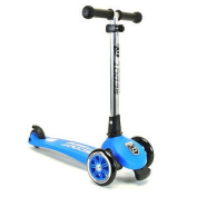Scoot And Ride Highwaykick 3 (kids Adjustable 3 Wheel Scooter Toy) - Blue