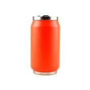 Yoko Design Neon 1351 Canette Double-Walled Stainless Steel 7 cm 280 ml, Orange, 14 x 7,5 x 7,8 cm