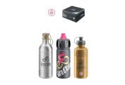 Elite Water Bottle Gift Pack 100th Giro d'Italia - multi-colour, one size