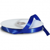 Royal Blue Double Faced Satin Ribbon - 5/8 Width - 100 Yards