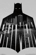 Trends International Batman Text Wall Poster 60cm x 90cm