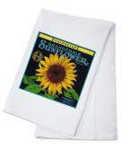 Redlands, California - Sunflower Brand Citrus - Vintage Label