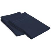 Superior Egyptian Cotton 800 Thread Count Embroidered Pillowcase Set