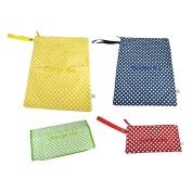 Easy Baby Extension Set in Polka Dot for Books, Toys, Dirty Clothes, Medicine & Nappy Changes