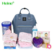 Heine Mummy backpack Nappy Bag Multi-Function Waterproof Travel Backpack Nappy Bags for Baby Care, Large Capacity, . and Durable