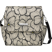 Petunia Pickle Bottom Boxy Backpack, Bouquets in Bordeaux