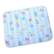 MonkeyJack Portable and Waterproof Changing Pad Mat for Baby - Blue, as described