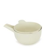 Biobu [by Ekobo] 68654 Pronto Small Handy Bowl & Colander Set, White