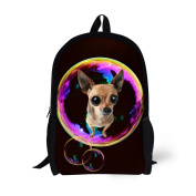 Showudesigns Trend Kids Bagpack Pet Dog Pattern Backpack for Little Boys Gilrs