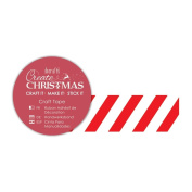 Create Christmas (Papermania) - Foil Candystripe Tape