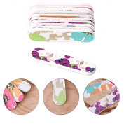 LinkinStar Mini Pro Nail Files Cute Round Double Sided Grit Nail Art Tips Tools Manicure