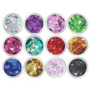 12 Colours Charming Nails Art Design Decorations - A24