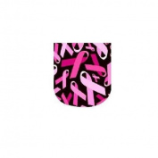 Pink Breast Cancer Awareness Ribbons Full Nail Wraps