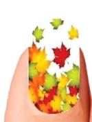 Autumn Fall Leaves Full Nail Wraps