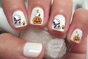 Cute Halloween Design H101 Nail Art Decals