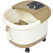 Best Choice Products Portable Foot Spa Bath Massager with Heat and LED Display, 3.2kg