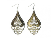 India Ornaments Earrings Miniblings Metal Bronze Indian Ornamental Metal Drops