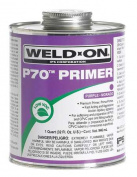 PVC and CPVC Primer, Weld-On, 13996