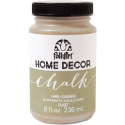 Plaid:Craft Folk Art Home Decor Chalk Paint, 240ml, Savannah Multi-Coloured
