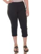 Style & Co. Deep Black Capris Size M NWT - Movaz