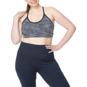 Under Control Women's Plus Size Low Impact Sports Bra with Strappy Back
