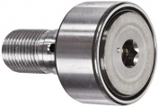INA KR35PP Cam Follower, Stud Type, Sealed, Metric, Steel, 35mm Roller Diameter, 18mm Roller Width,