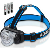 Led Head Torch With Red Lights For Running, Camping, Reading, Hiking, Kids