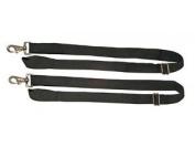 Weatherbeeta Replacement Elastic Leg Strap 1 Snap Pair, Black.