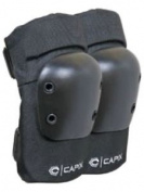 Capix Street Elbow Pads Skateboard Elbow Pads, X-large, Black, 031852