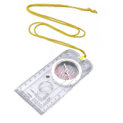 Mavi Magnifying Compass Army Scout Hiking Camping Boating Map Reading F5h4 H4l1