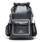 Dry Bag Backpack 33l With Laptop Pocket, Roll Top Seal Sports Bag Rucksack