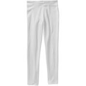 Hanes Girls' White Cotton Leggings